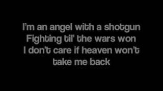 Angel With A Shotgun by The Cab [Lyrics]