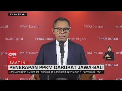 Penerapan PPKM Darurat Jawa-Bali