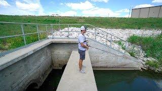 Catching Fish in HIDDEN DRAIN!?!?