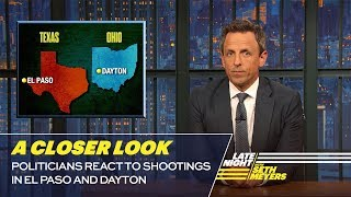 Politicians React to Shootings in El Paso and Dayton: A Closer Look