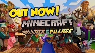 ″Village & Pillage″ Update OUT NOW - Minecraft 1.11 / 1.14