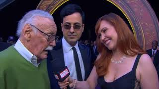 Stan Lee Interview - Avengers Infinity War World Premiere Red Carpet