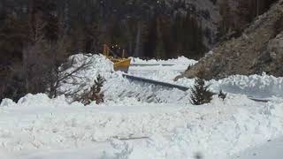 Beartooth Highway Clearing - April 19, 2018