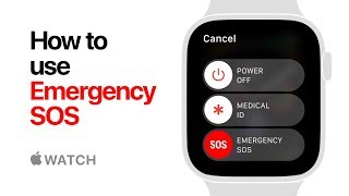 Apple Watch Series 4 — How to Use Emergency SOS — Apple