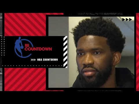 As a team, we got closer - Joel Embiid on the Ben Simmons situation | NBA Countdown