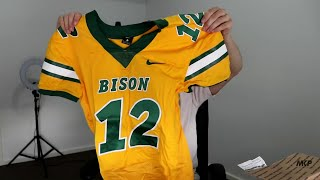Rugby Player Receives NORTH DAKOTA STATE BISON Football Fan Starter Pack From A Subscriber!