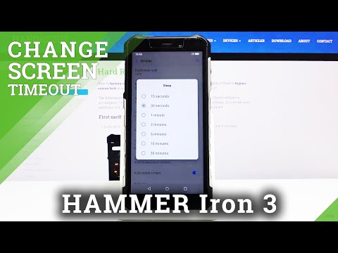 How to Change Screen Timeout in Hammer Iron 3 - Display Sleep Feature