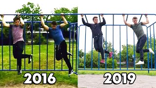 Recreating my BODY TRANSFORMATION with The Guy In The Blue Shirt