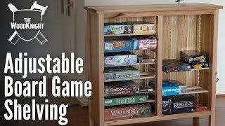 Adjustable Board Game Storage (Box Usurper)