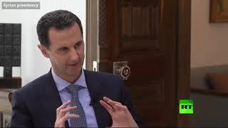 الأسد يوضح سبب قيادة سيارته بنفسه