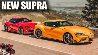 🐒 NEW TOYOTA SUPRA - I RACED THE BOSS!