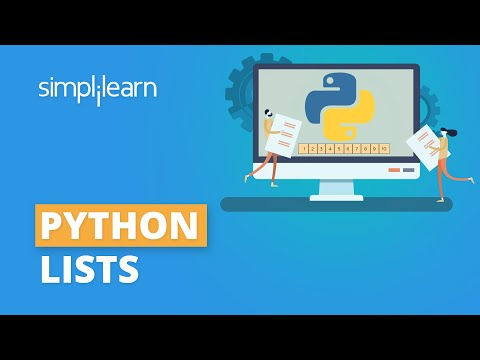 Python Lists Tutorial | Introduction To Lists In Python | Python Tutorial For Beginners |Simplilearn