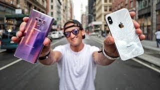 Galaxy Note 9 VS iPhone X - ULTIMATE CAMERA COMPARISON