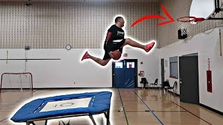 THE TRAMPOLINE DUNK CONTEST!!