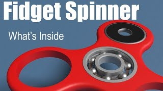 What's inside of a Fidget Spinner?