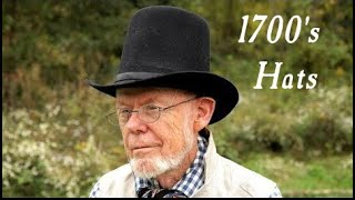 The Varieties of 18th Century Hats - Live From The Nutmeg Tavern!