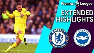Chelsea v. Brighton | PREMIER LEAGUE EXTENDED HIGHLIGHTS | 12/16/18 | NBC Sports
