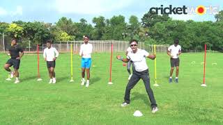 Fast Bowling Fitness Drill with Chinmoy Roy | Cricket World