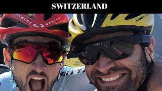 Switzerland - A Castle, a Lake, a Sausage Fest, and Minor Vandalism at the UCI HQ