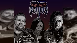 WWE 2K Universe - WWE 2K18:(Oct. 29th) SD Live's Halloween Havoc 2 Official Match Card