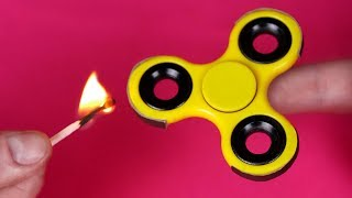 4 AWESOME FIDGET SPINNER TRICKS