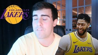 ANTHONY DAVIS TRADED TO THE LAKERS!!!