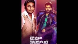 Avalum Naanum- Guitar version Achcham Yenbathu Madamaiyada BGM A.R.Rahman