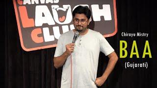 Baa   Gujarati Stand-Up Comedy by Chirayu Mistry