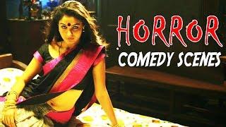 Telugu Best Horror Comedy Scenes || Back 2 Back Comedy Scenes