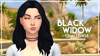 HE LEFT HIS WIFE // The Sims 4: Black Widow Challenge #26