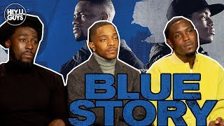 Eric Kofi-Abrefa, Junior Afolabi Salokun & Khali Best Interview - Blue Story