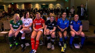 VIDEO 2016 Women's Six Nations launch