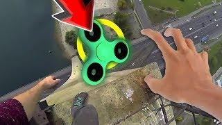 TOP 95 Ultimate Fidget Spinner CHALLENGE ! (BEST Fidget Spinner Tricks DIY Toy VS Compilation)