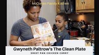 Gwyneth Paltrow's The Clean Plate: Sheet Pan Chicken Curry, a recipe test