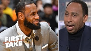 LeBron takes 'the keys to the throne' away from NBA general managers - Stephen A. | First Take