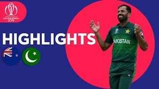 Babar Azam Hits 101*   New Zealand vs Pakistan - Match Highlights   ICC Cricket World Cup 2019
