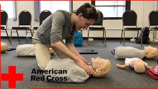 American Red Cross FIRST AID CPR AED TRAINING