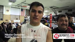 Hector Gonzalez Finalista Golden Gloves 2014