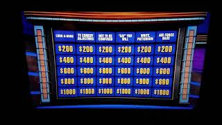 Basic Jeopardy question super fail.