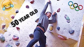DAD DOES PRO CLIMBING!   Ft Molly Thompson Smith