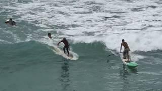 Surf no Posto 6 de Copacabana