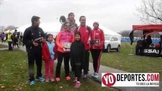 Latinos arrasan en carreras de 5K y 10K Turkey Trot Lincolnwood 2014