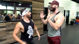 DOM MAZZETTI IS SCARING ZOO CULTURE MEMBERS