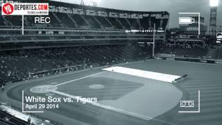 Sox Tigers rain delay April 29 2014