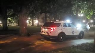 Civic Center Park Cops