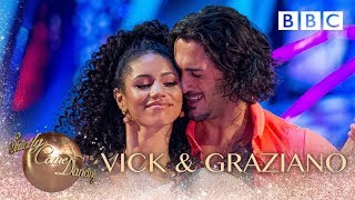 Vick Hope and Graziano Di Prima Cha Cha to 'More Than Friends' by James Hype - BBC Strictly 2018