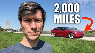 How Miserable Is A Tesla Road Trip?