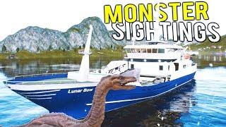 FISHING BOAT SPOTS THE LOCH NESS MONSTER?! Deadliest Catch Simulator - Fishing: Barents Sea