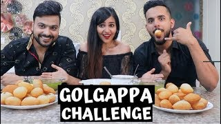 GOLGAPPA CHALLENGE || WHO CAN EAT MORE 🤤