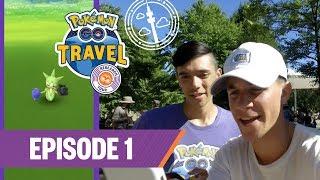 Pokémon GO Travel: Research Tour—Meet the Team! (Ep. 1)